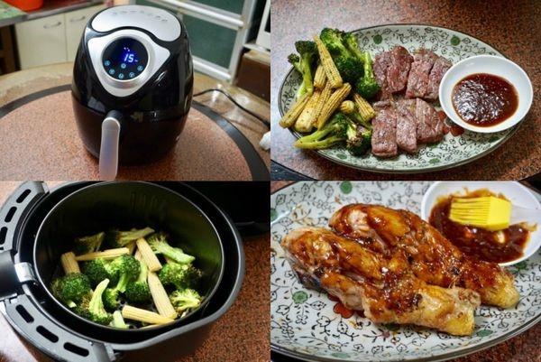 (淘寶開箱)超級熱銷的科帥氣炸鍋~~不用廚藝就能輕鬆做好菜!!!美規版台灣電壓天貓包郵直運