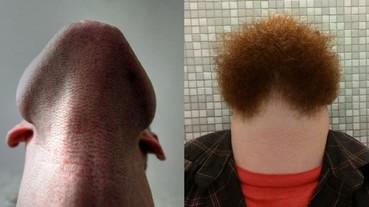 男人都該試一試!網友自拍「下巴鬍子照」 看起來詭異又好笑!