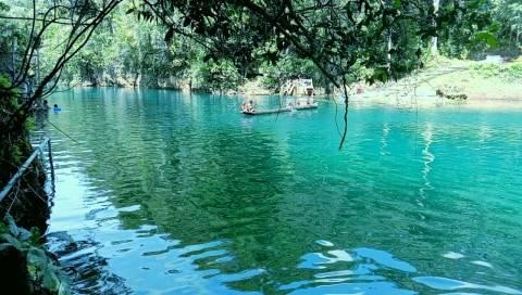 Melihat Keindahan Wisata Danau Uter di Kabupaten Maybrat, Papua Barat (2)