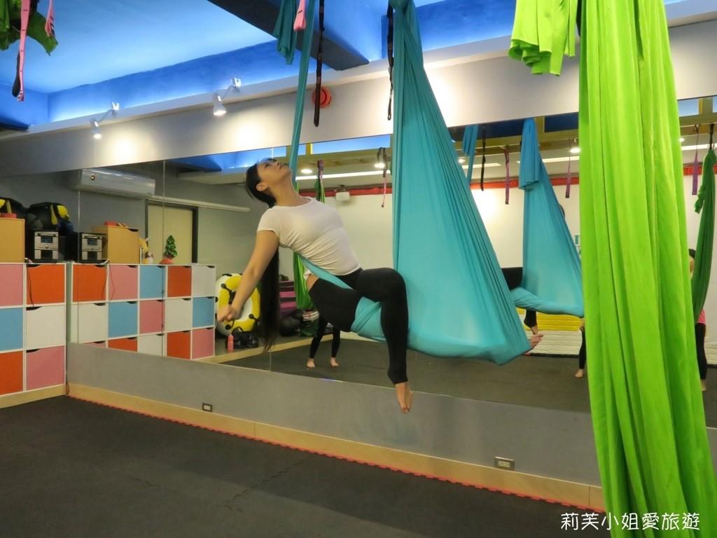 [運動] 台北 Happy Sport體適能休閒空間.空中瑜伽初學者初體驗紀錄 (士林站)