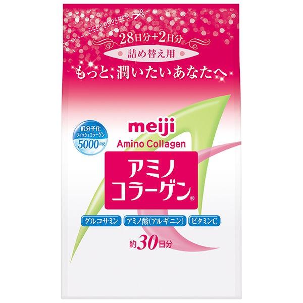 罐裝補充包明治Meiji 膠原蛋白粉迎向10周年販賣紀念!100%低分子膠原蛋白每份7g即可攝取5,000mg的膠原蛋白採用獨特技術降低氣味將膠原蛋白的好處散播出去~內容物: 214g/袋產地: 日本