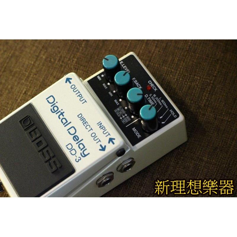【新理想樂器】BOSS DD-3 Digital Delay 數位延遲 效果器 單顆 公司貨