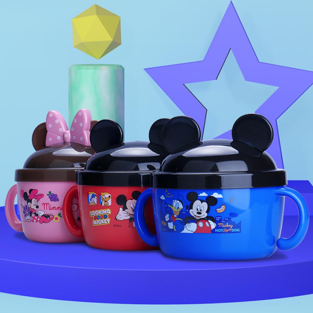 【STAR BABY】必備!迪士尼耳朵造型 不銹鋼雙柄大餐碗
