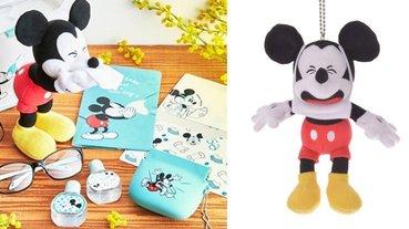 戴口罩的米奇太爆笑!日本迪士尼商店推出預防花粉症的實用小物,看到米奇「這裡」也跟著癢