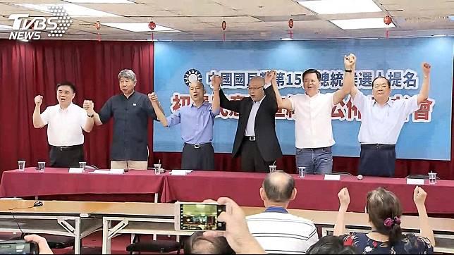 韓國瑜與其在記者會侃侃而談,不如爭取黨內競爭同志的合作