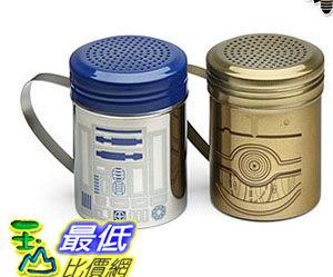 [美國直購] ThinkGeek 星際大戰 R2-D2 & C-3PO Spice Shaker Set 胡椒罐組