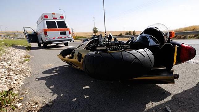 Kecelakaan Kendaraan Bermotor atau Kecelakaan Roda Dua