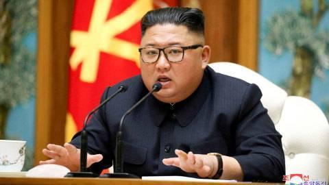 Pemimpin Tertinggi Korea Utara, Kim Jong-un. Foto: KCNA/via REUTERS