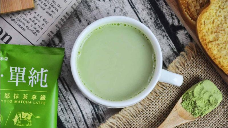 下午茶的小清新選擇!茶香與乳香濃醇回甘,抹茶拿鐵大評比