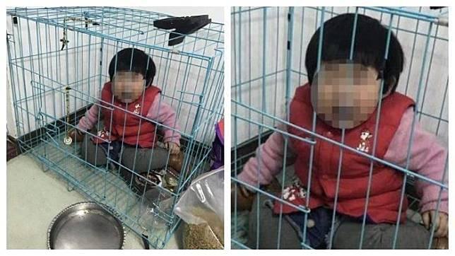 Ayah Tega Kurung Anak di Kandang Anjing