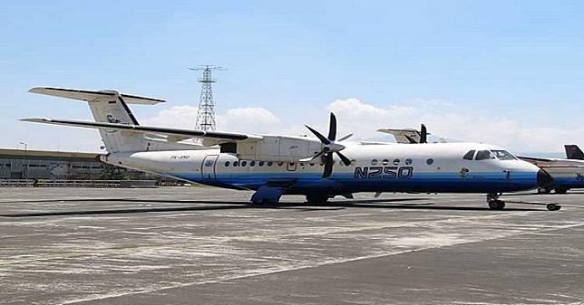 Dua Karya Pesawat Terbang N-250 dan R80 Buatan BJ Habibie