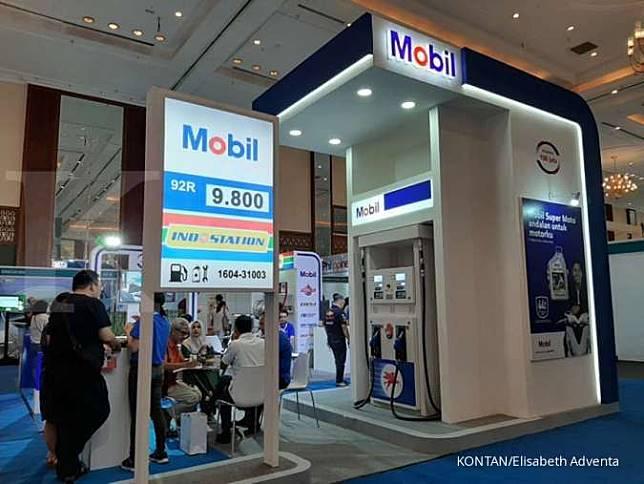 Booth ExxonMobil di pameran IFRA 2019