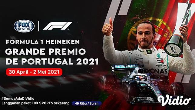 Live Streaming F1 Portugal di Kanal FOX Sports
