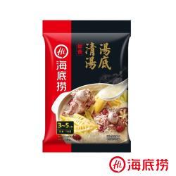 【海底撈】海底撈火鍋湯底單包入-清湯口味