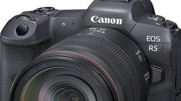 Canon EOS R5 與 EOS R6 正式推出:8 格防震與 8K RAW 錄影!總之就是牙膏直接擠爆