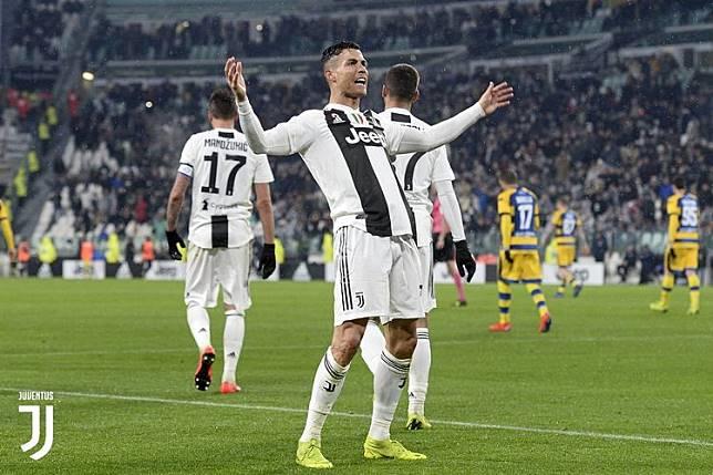 Penakluk Segala, Cristiano Ronaldo Juga Tembus 20 Gol di Liga Italia