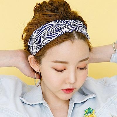 梨花HaNA 韓國盛夏熱帶植物花草髮帶/髮箍