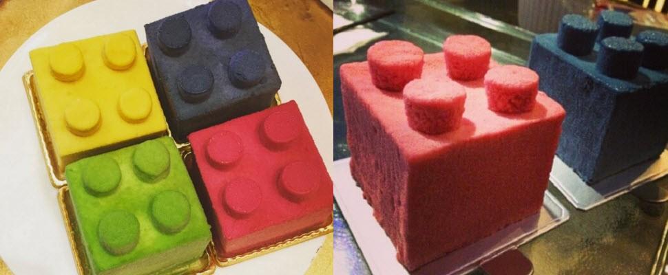 這麼可愛的樂高蛋糕,即使討厭甜點也要買一塊!