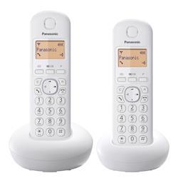 ◎1.4吋顯示幕|◎50組英文姓名電話簿|◎鬧鐘功能商品名稱:Panasonic國際牌DECT數位無線電話品牌:Panasonic國際牌型號:KX-TGB212TW類型:數位無線電話顏色:白色系,黑色