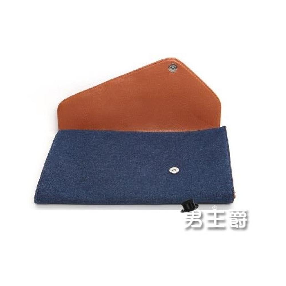 手拿包皮夾帆布男士手包男士手拿包手抓包正韓信封包文件袋
