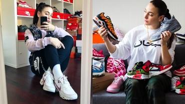 【潮妹一週間】「我大概有 100 雙 Nike 吧!」女鞋頭 Jeanne Santoli 的球鞋多到可以開店!