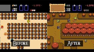 玩家合力重製 FC 版初代《薩爾達傳說》,從音樂到畫面全方位強化