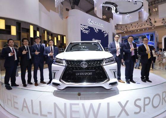 Lexus LX 570 Sport terbaru