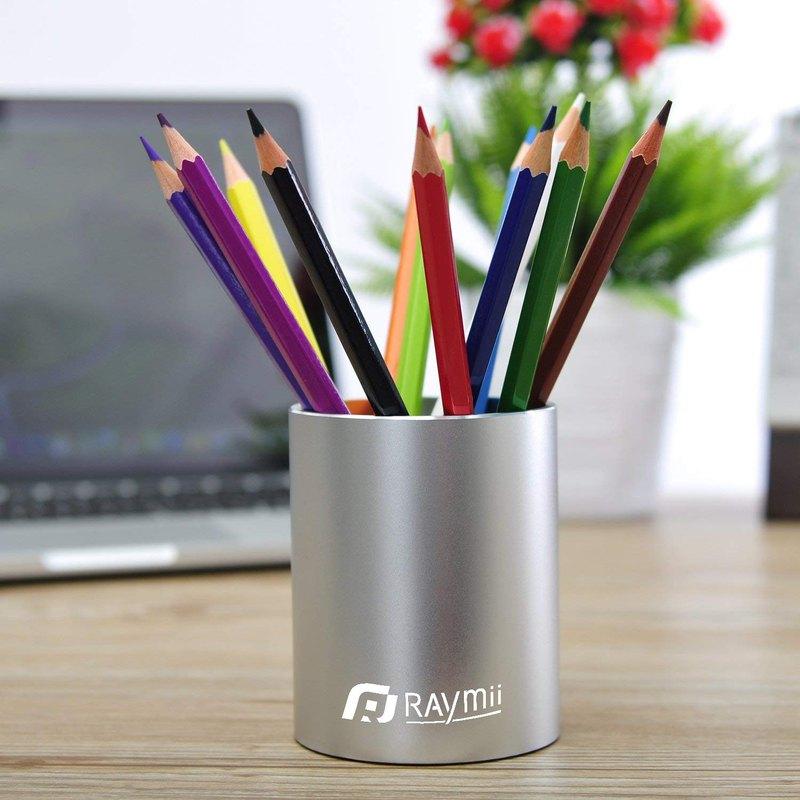 一體成形製作,全鋁合金時尚精品筆筒。陽極氧化處理表面,與蘋果筆電同等質感,精緻美型
