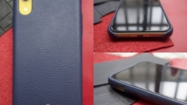 iPhone XR 遇上小羊皮!!