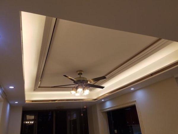 智能燈帶led霓虹燈條超亮客廳吊頂白光裝飾220v長條線燈240燈珠