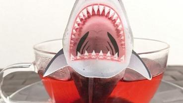 日本伴手禮水底生物茶包大集合 這款鯊魚茶包也太可怕!