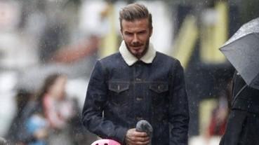 全球最性感的男人貝克漢,穿 WeSC 展現街頭率性丹寧時尚!