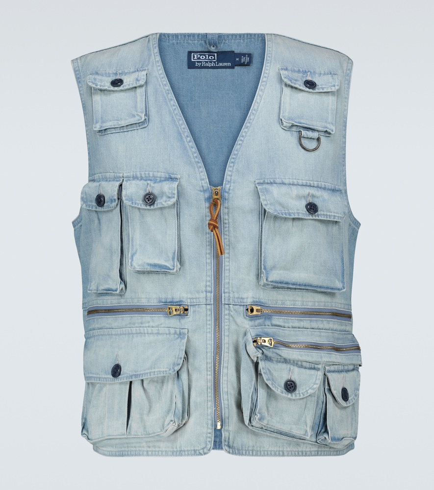 Part of the exclusive Polo Ralph Lauren capsule collection, this outdoor vest from Polo Ralph Lauren