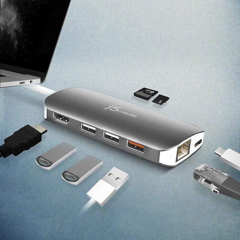 產品特色 支援HDMI 4K最高解析度 提供10/100/1000 Gigabit Ethernet埠 Type-C埠支援PD3.0充電功能/資料傳輸功能 支援BC1.2快充功能 增加USB3.0/S