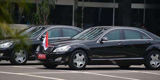 Mobil kepresidenan di pelantikan Jokowi-JK. ©2014 merdeka.com/muhammad luthfi rahman