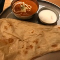 インドカレー定食 - 実際訪問したユーザーが直接撮影して投稿した西新宿インド料理インド定食 ターリー屋 新宿三井ビル店の写真のメニュー情報