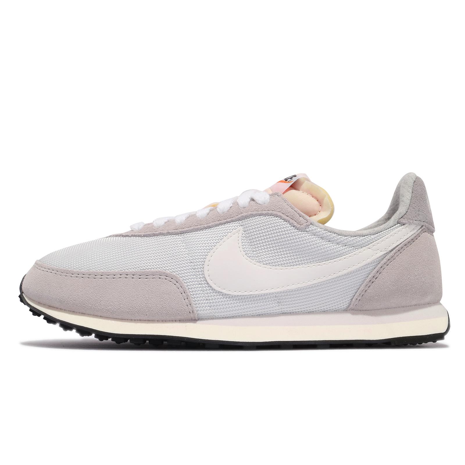 Nike 休閒鞋 Wmns Waffle Trainer 2 SE 復古 灰 麂皮 女鞋【ACS】 DM9091-011