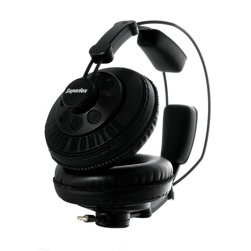 舒伯樂 Superlux HD668B 半封閉式 耳罩式耳機 總代理公司貨 保固一年