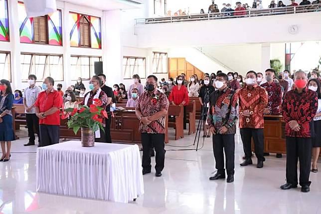 Wakil Bupati Minahasa Dilantik Ketua Panitia FSPG Sinode GMIM, Ini Harapannya