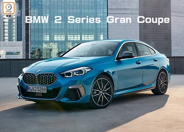 BMW 2 Seris Gran Coupe M235i xDrive,外形設計跑格十足。(互聯網)