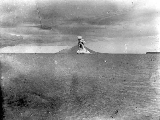 Awal mula lahirnya Gunung Anak Krakatau