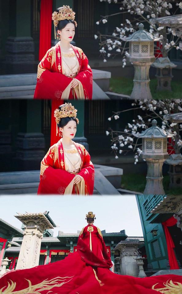 近期古裝劇「紅衣美人」5:李沁 飾演《錦秀南歌》沈驪歌