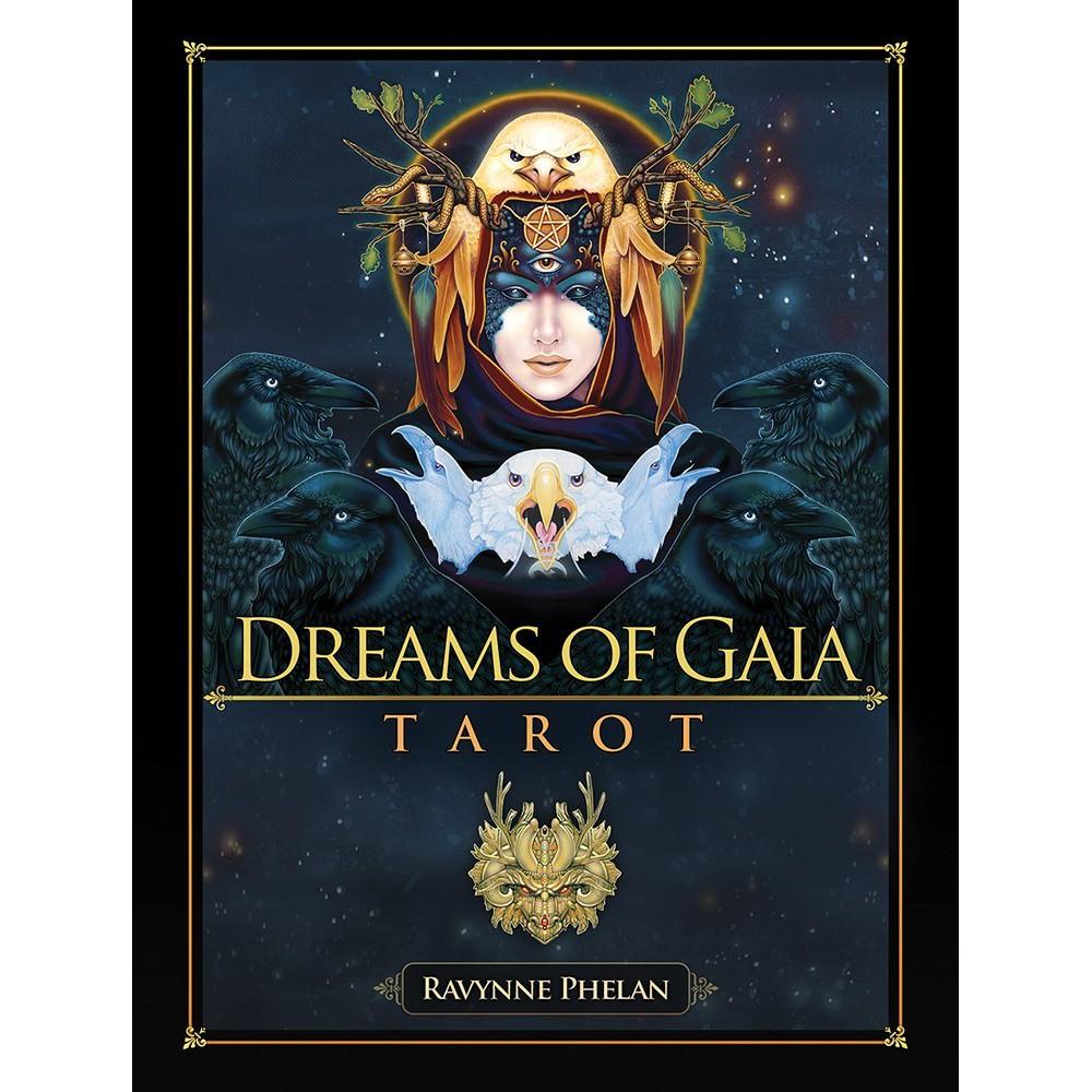 Dreams of Gaia Tarot產品特色:80 張圖卡,超大本厚實的說明書達 308 頁。圖卡框角刷金邊,十分亮麗!大地母親之夢塔羅的理念非常簡單:追求、感受、成長以及療癒。大地母親之夢塔羅帶