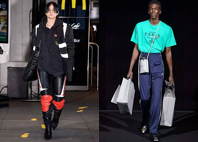 Vetements成功掀起時裝界的Street Fashion熱潮。(互聯網)