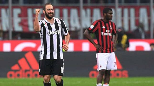 Penyerang Juventus, Gonzalo Higuain