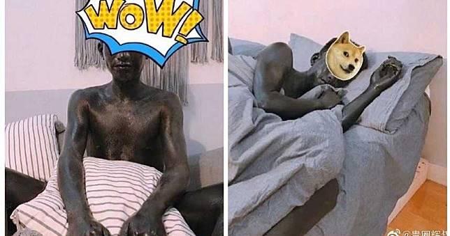 女友幫按摩惡作劇「全身塗黑墨」 男醒來變黑人怒分手