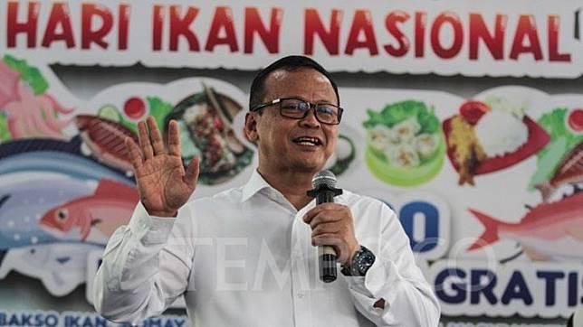 Maritime Affairs and Fisheries Minister Edhy Prabowo. TEMPO/Ahmad Tri Hawaari