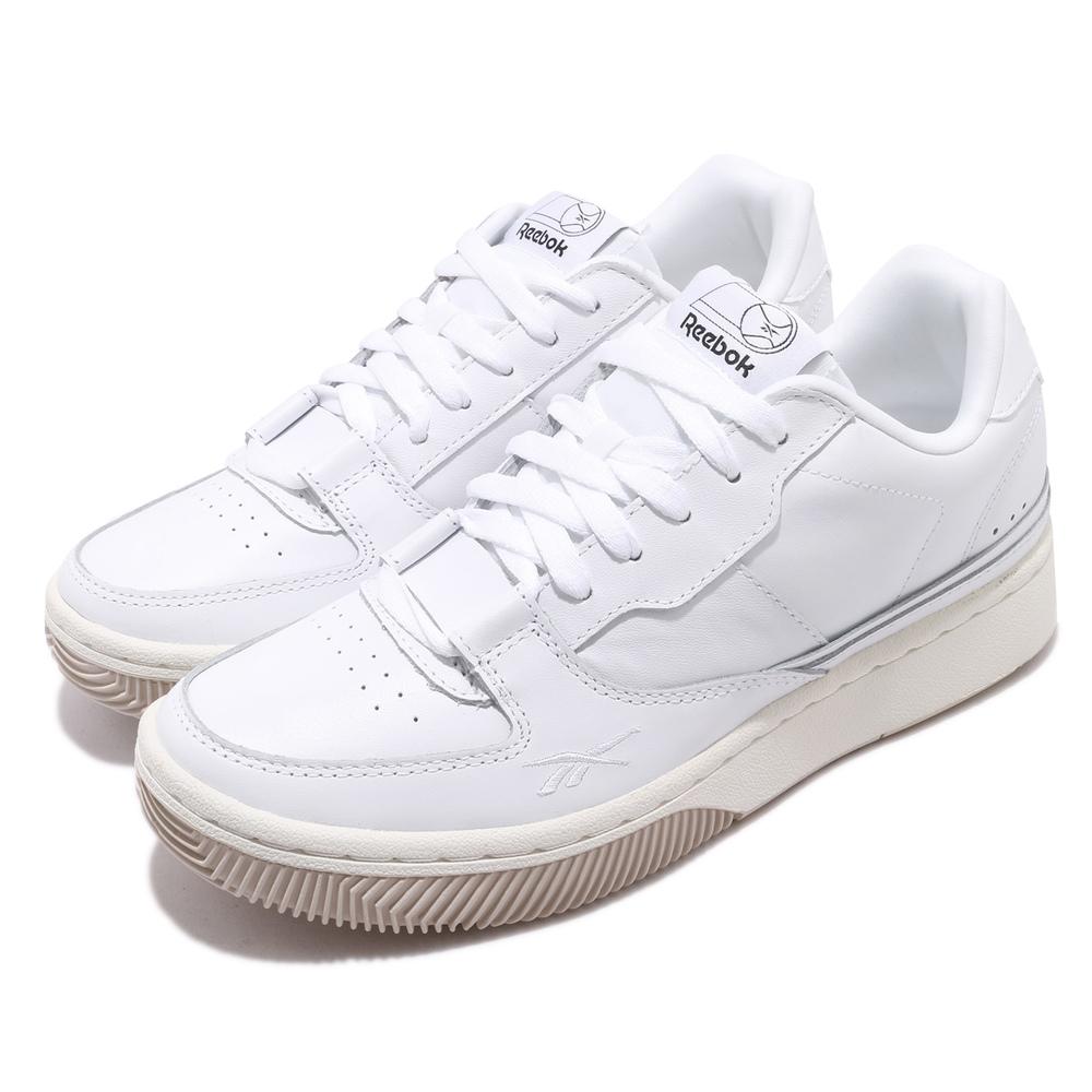 請參考男鞋尺寸表品牌:REEBOK型號:EG6022品名:Dual Court配色:白色,米色