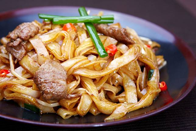 Where are fried beef noodles from? No, it's not Hong Kong