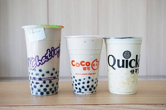Bubble drinks, also known as bubble tea.